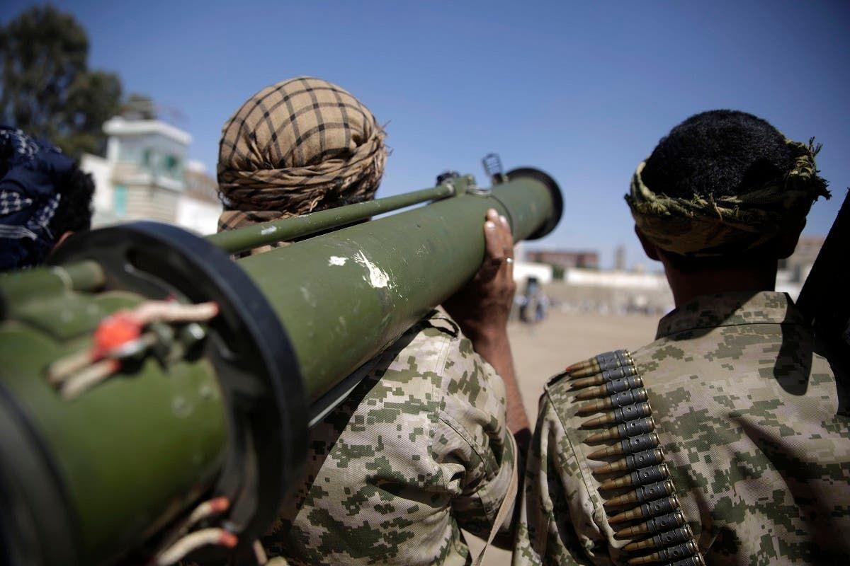 مقاتلون حوثيون في صنعاء (أرشفيية)