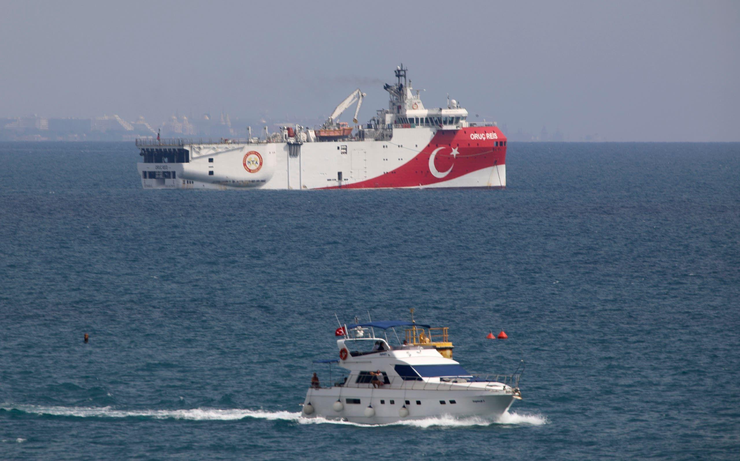 سفينة المسح التركية