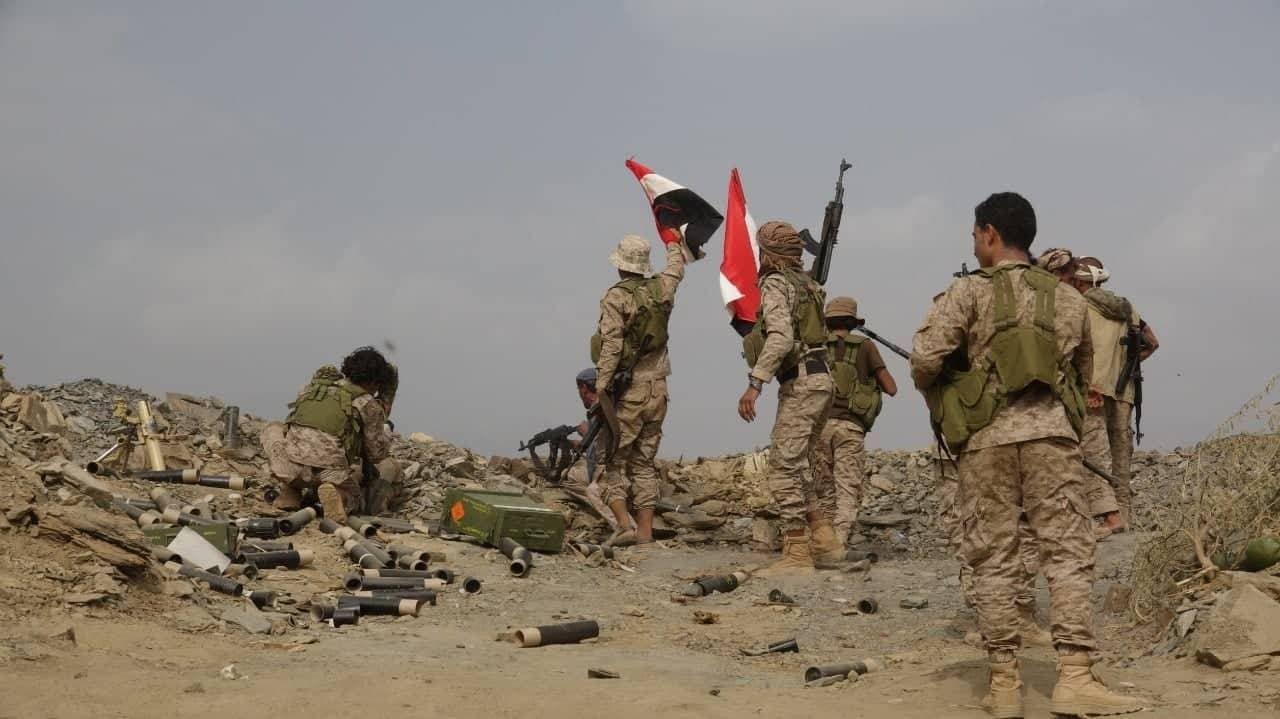 الجيش اليمني في جبهة صرواح