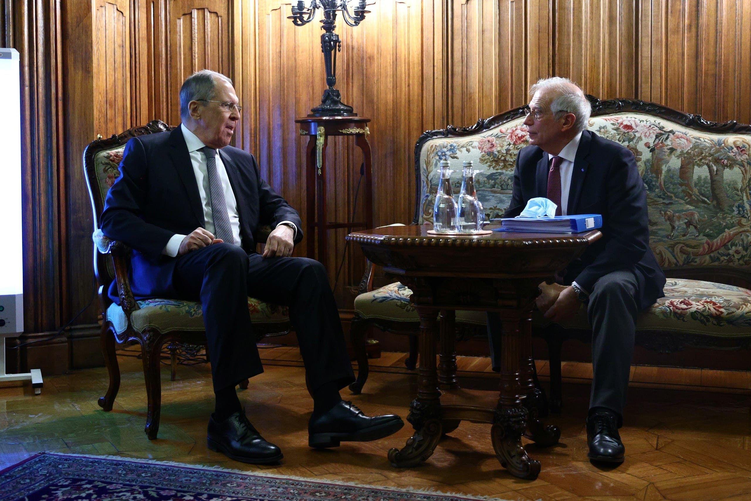من اجتماع بوريل بلافروف في موسكو