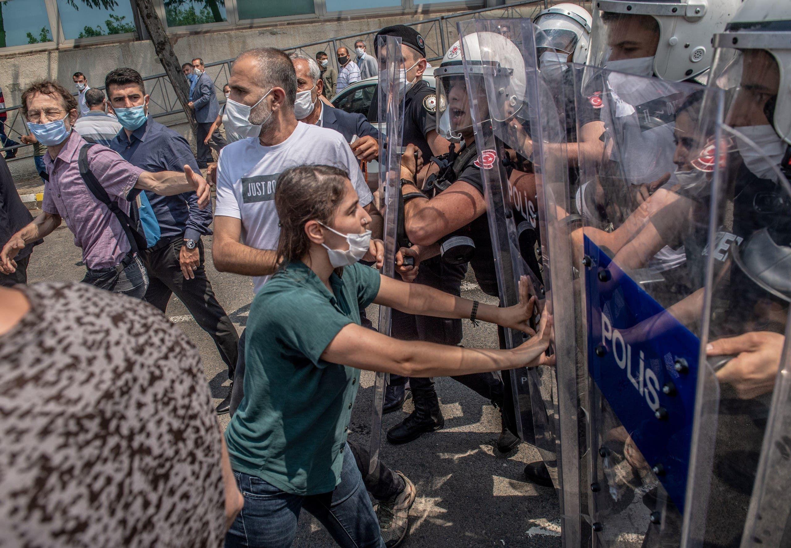 مظاهرات في تركيا (أرشيفية- فرانس برس)