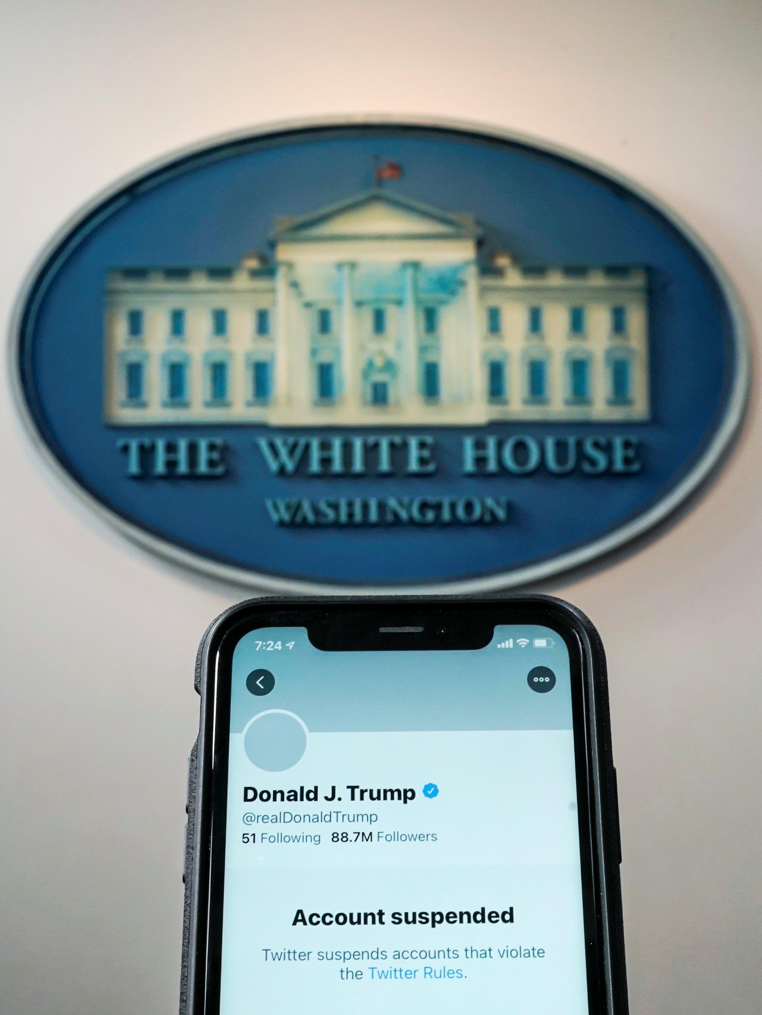 إغلاق حساب ترمب في تويتر نهائياً - رويترز