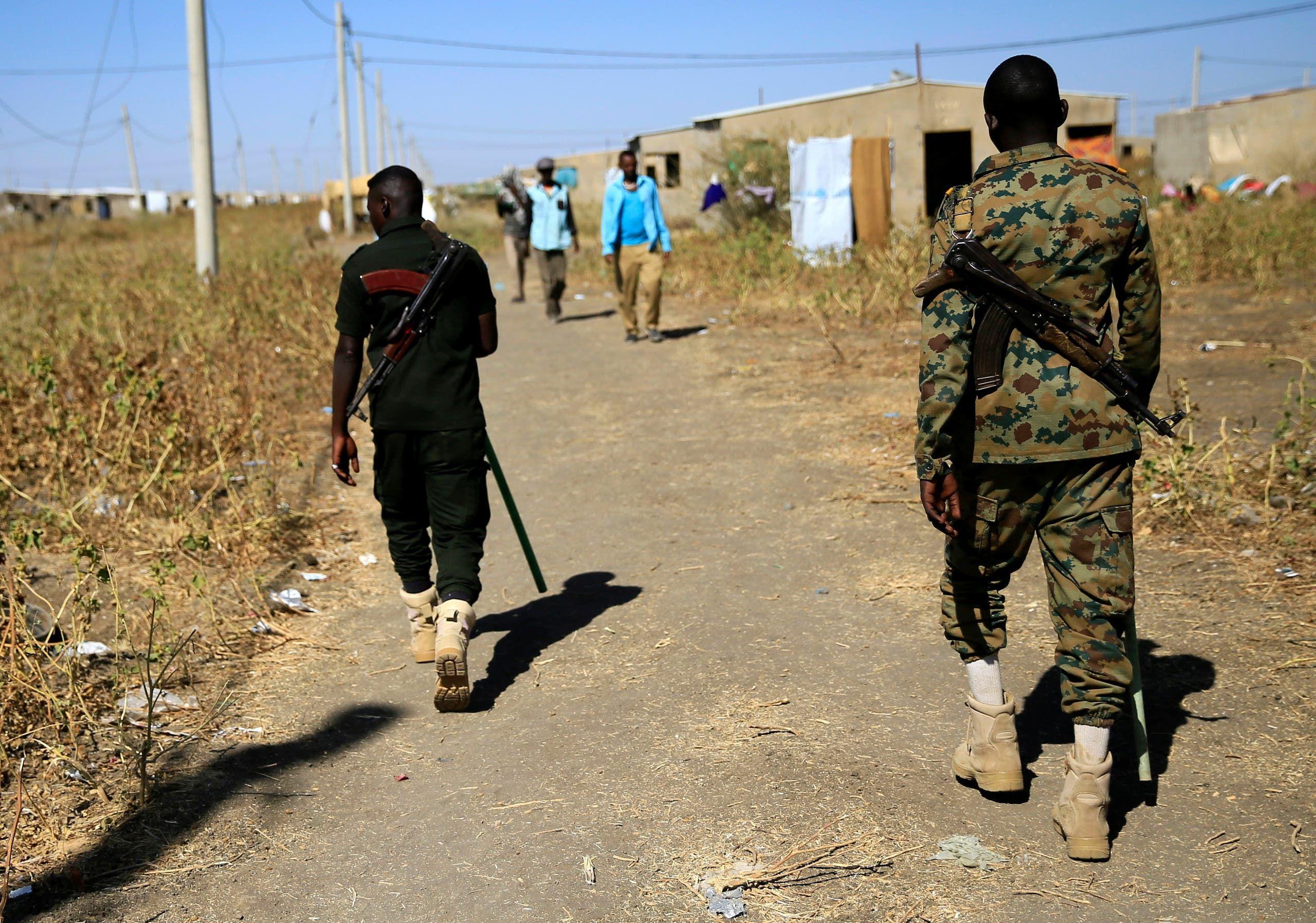 من الحدود الإثيوبية السودانية (أرشيفية من رويترز)