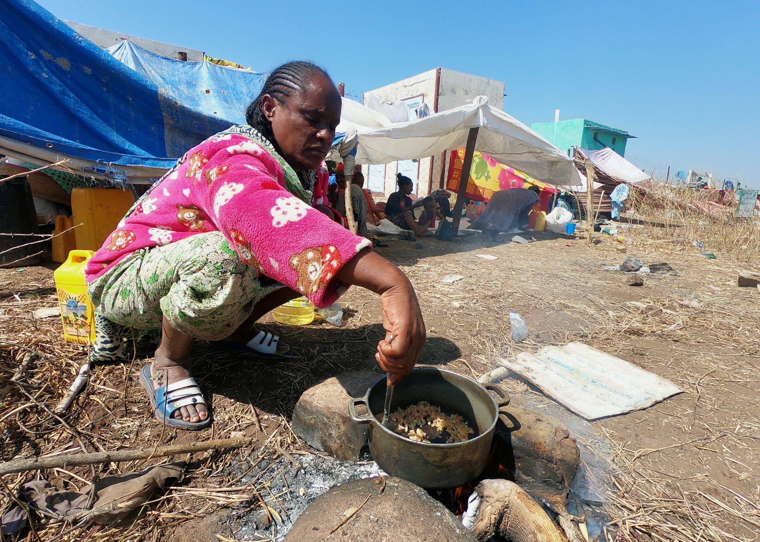 من نازحي إقليم تيغراي في إثيوبيا