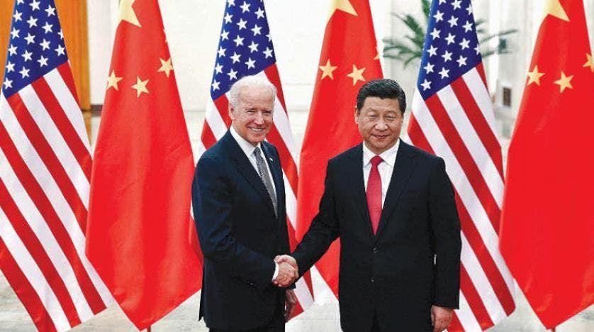 الرئيس الأميركي ونظيره الصيني