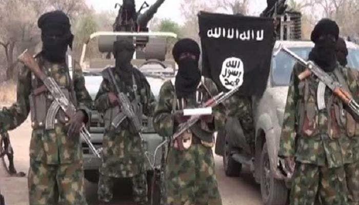 عناصر من داعش في نيجيريا