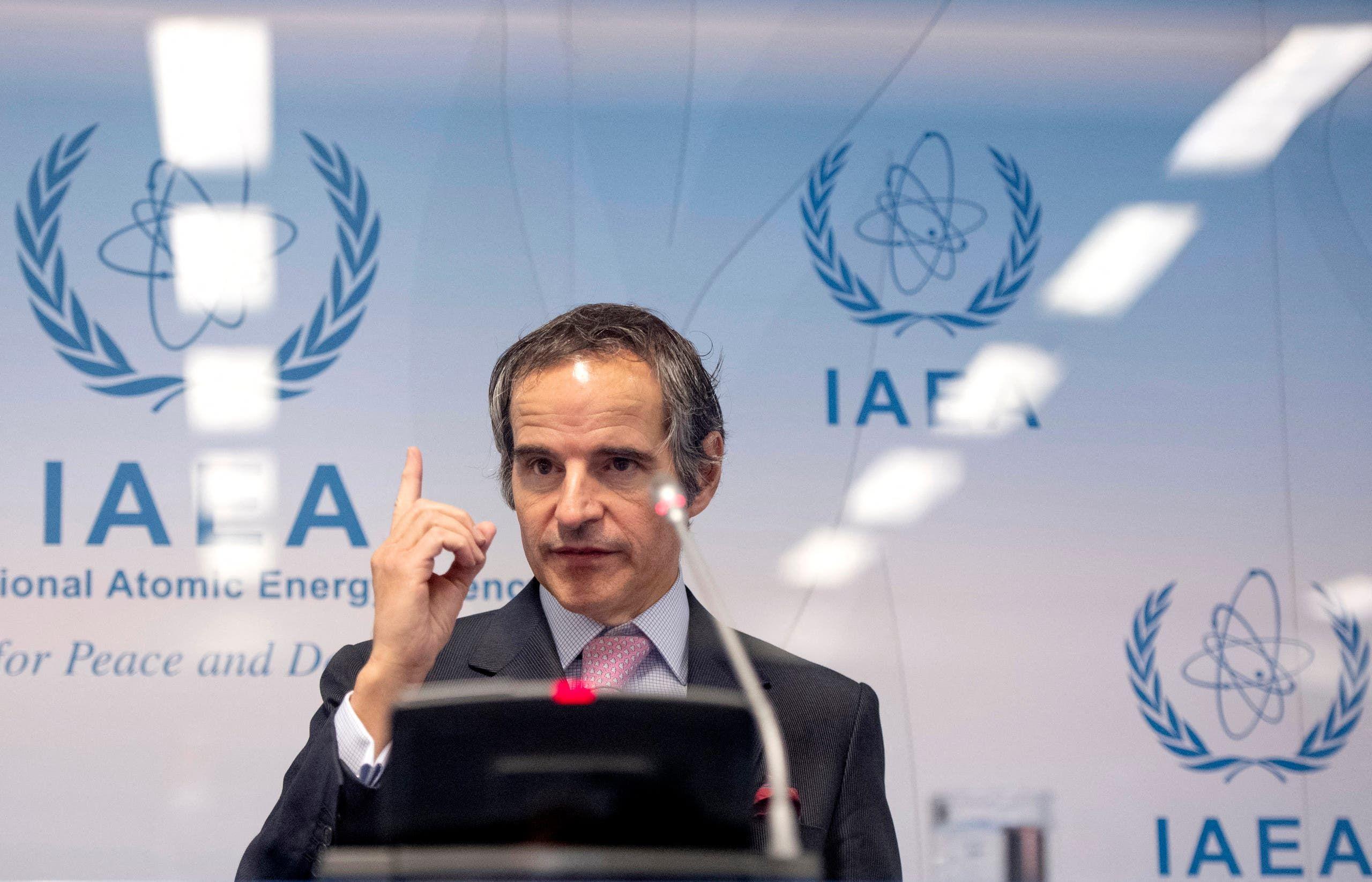 المدير العام للوكالة الدولية للطاقة الذرية (فرانس برس)
