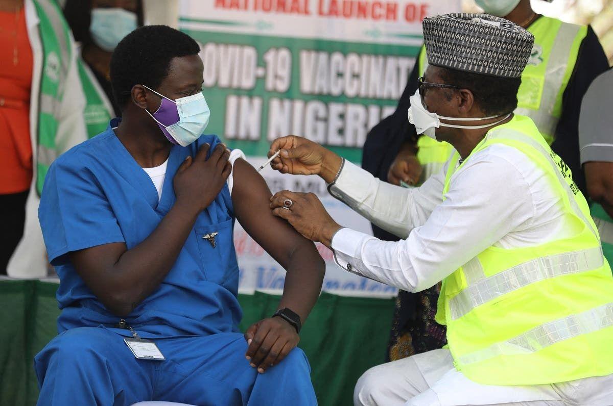 توزيع اللقاح في نيجيريا