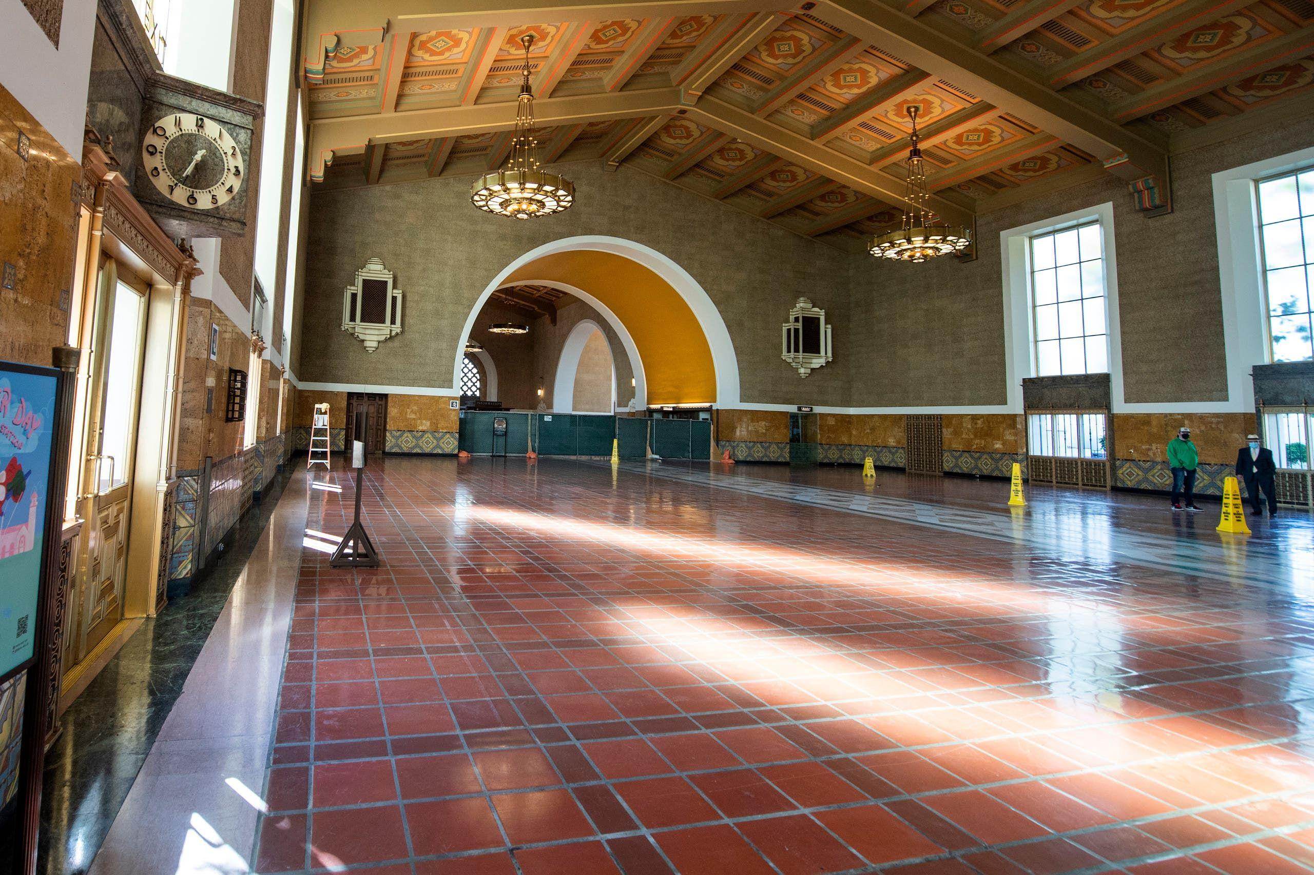 محطة سابقة للقطارات في لوس أنجلوس سيقام فيها الحفل الرئيسي