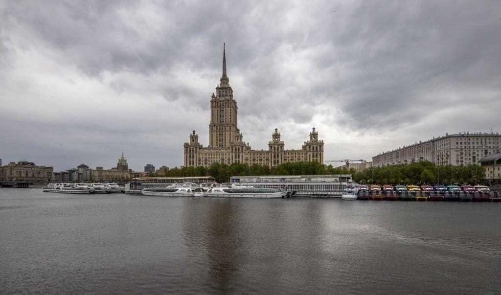 وسط موسكو - فرانس برس