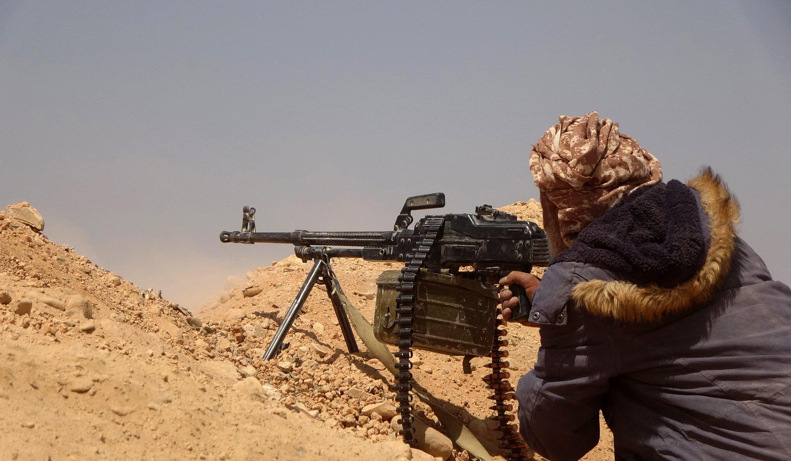 الجيش اليمني في مأرب (أرشيفية)