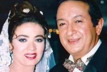 في دور ألفت مع الفنان الراحل نور الشريف في مسلسل الحاج متولي في عام 2001