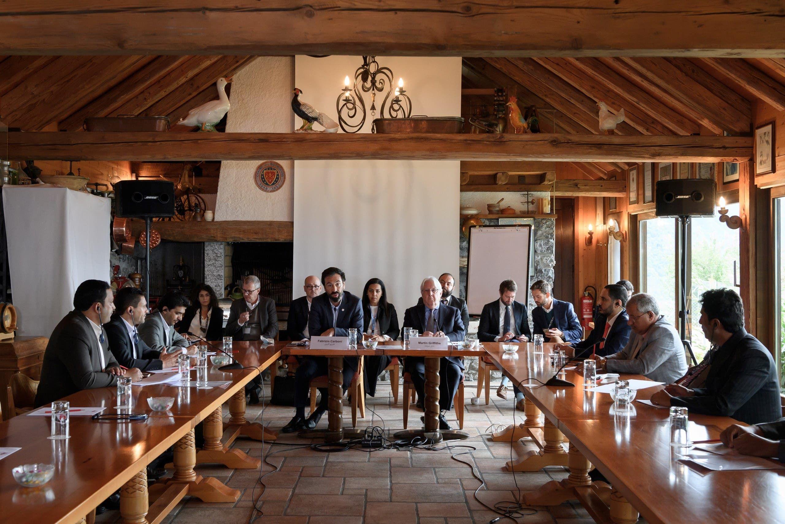 محادثات في سويسرا في سبتمبر 2020 لتبادل المعتقلين بين الأطراف اليمنية