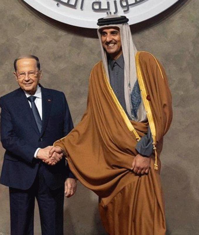 """أمير قطر يعلّق على مشاركته في """"القمة"""""""
