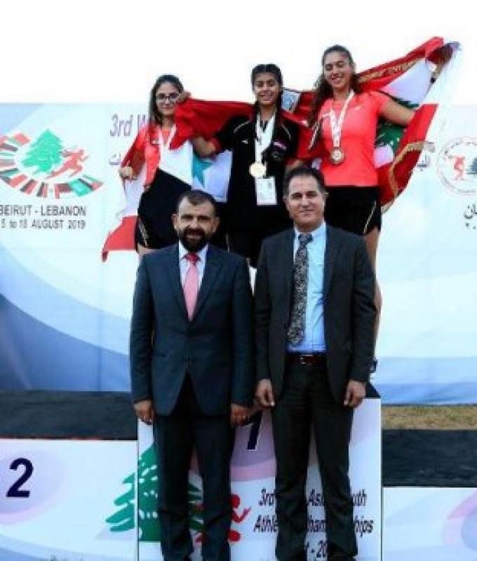 لبنان يُحرز 3 ذهبيات في قوى غرب آسيا