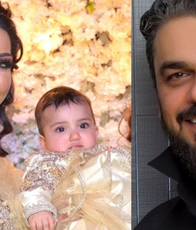 محمد الترك يلمح إلى حمل زوجته دنيا بطمة مجدداُ (فيديو)
