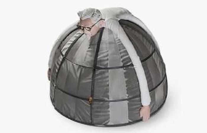 """خيمة """"فارادي"""".. الدرع المضادة للإنترنت"""
