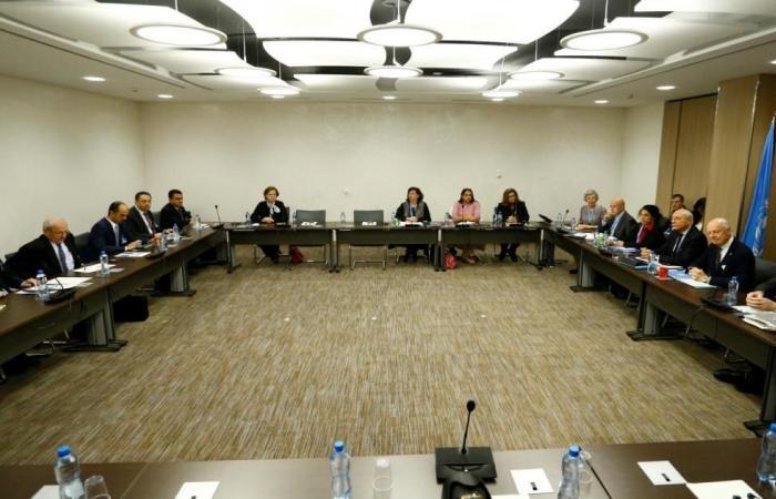 دي ميستورا يقدم ورقة مبادئ عامة والجعفري يعلن المغادرة