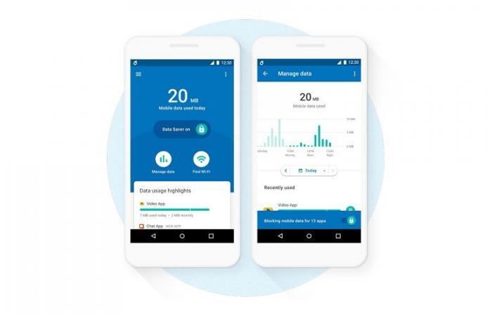جوجل تطلق تطبيق Datally لتوفر البيانات الخلوية على هواتف أندرويد