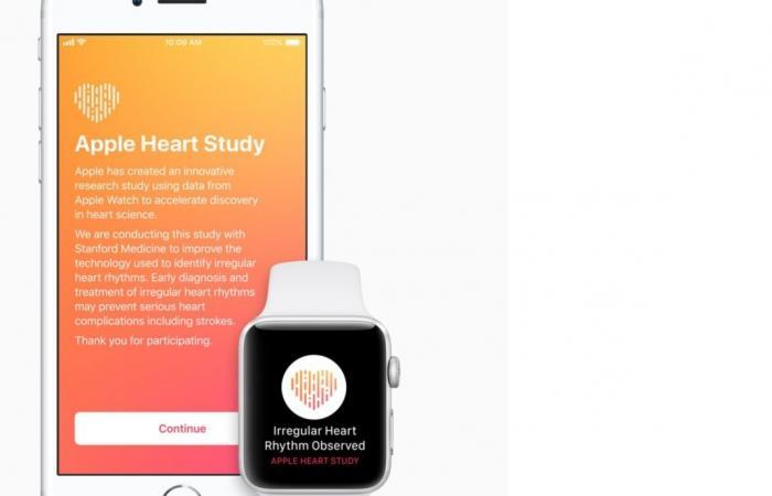 آبل تصدر Apple Heart Study للكشف عن أمراض القلب
