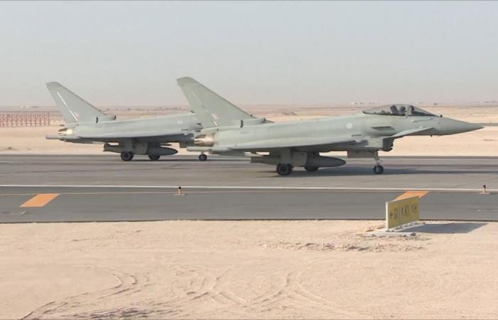 قطر وبريطانيا تختتمان تمرينات جوية مشتركة