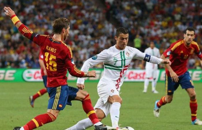 مواجهة منتظرة بين رونالدو وزميله راموس في كأس العالم