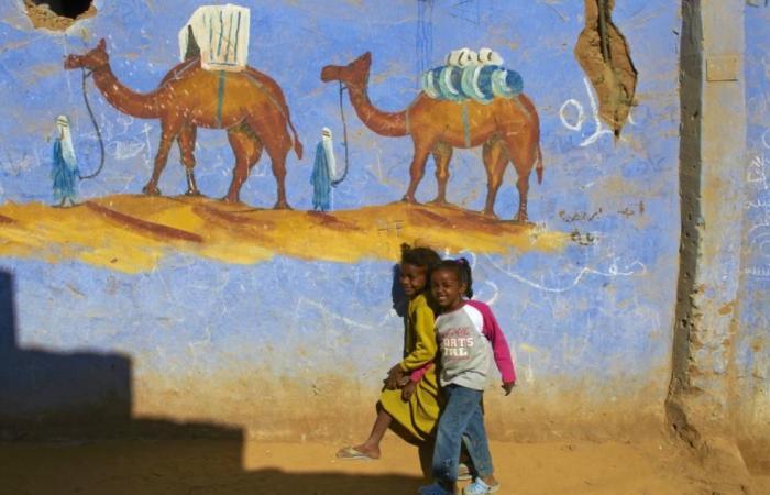 دراسة ترصد الرسوم الجدارية الشعبية بجنوب مصر