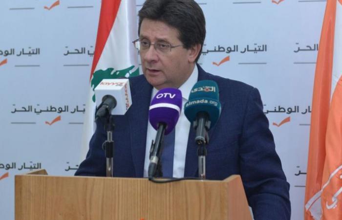 كنعان: لبنان عاد إلى مساره الدستوري السليم