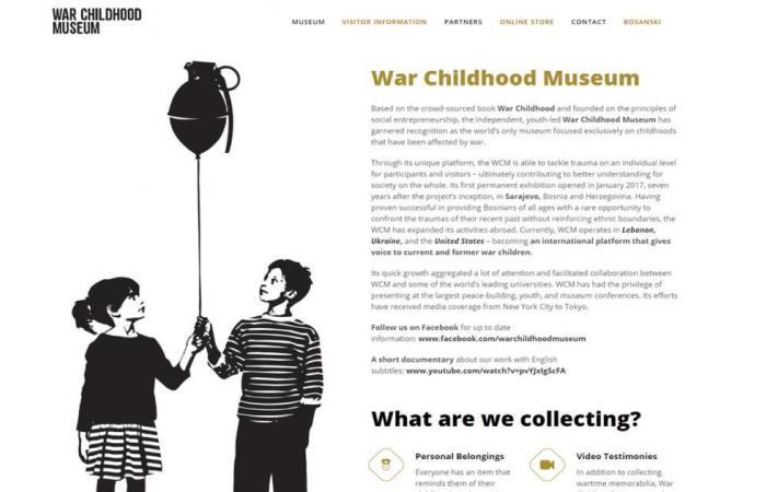 متحف سراييفو لمقتنيات الأطفال أثناء الحرب يفوز بجائزة