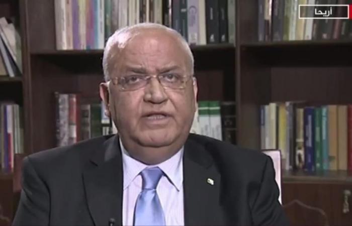 عريقات: قرار ترمب دمّر حل الدولتين وعملية السلام