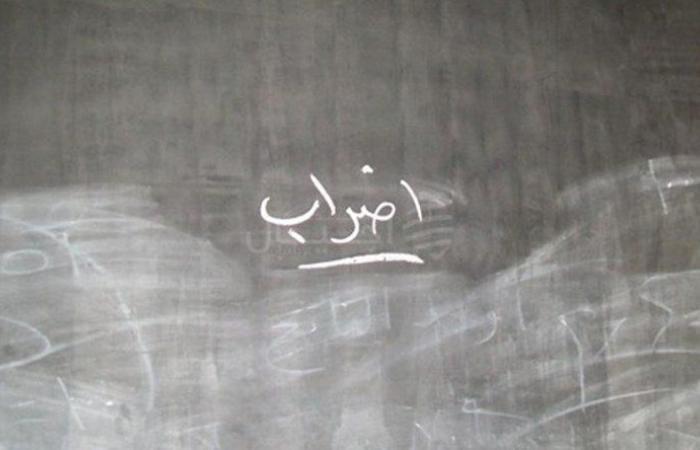 اعتصام لحراك المتعاقدين الثانويين في رياض الصلح الجمعة