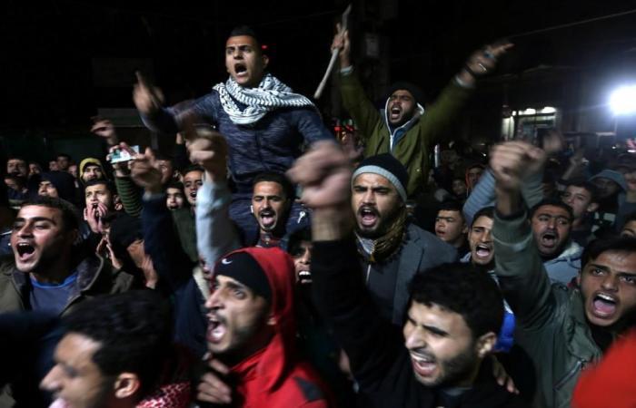 يوم غضب فلسطيني نصرة للقدس ورفضا لقرار ترمب