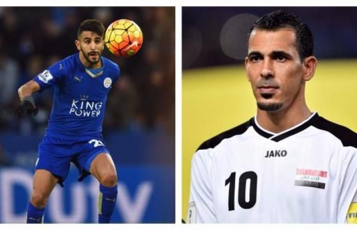 """العرب و""""الكرة الذهبية""""..الجزائري محرز يتفوق على العراقي محمود"""