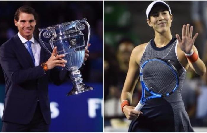 نادال وموغوروزا..الأفضل في عالم التنس عام 2017