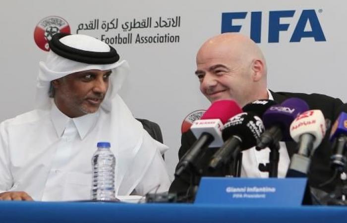 إنفانتينو يشيد بموقف قطر