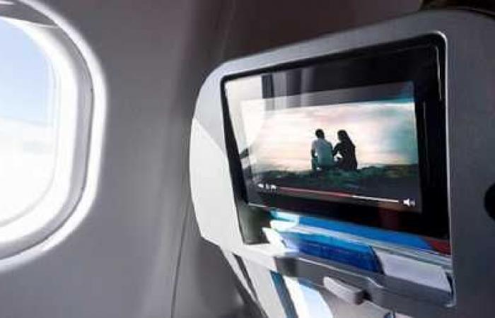 مقعد على الطائرة يمنحك خدمة أفضل