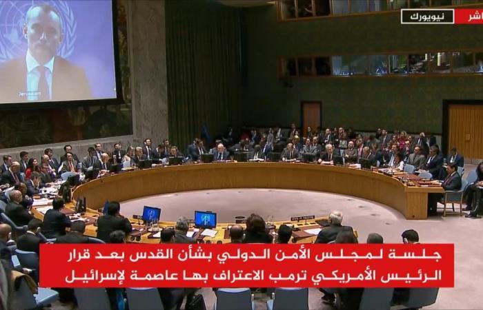معارضة بمجلس الأمن لقرار ترمب حول القدس