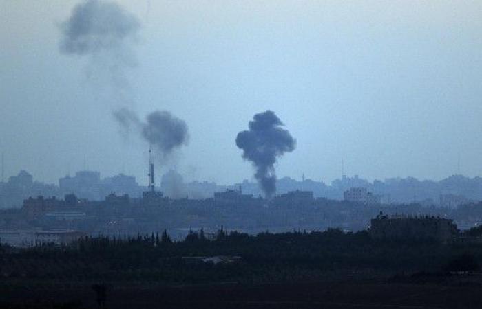 إسرائيل تقصف غزة رداً على إطلاق صواريخ