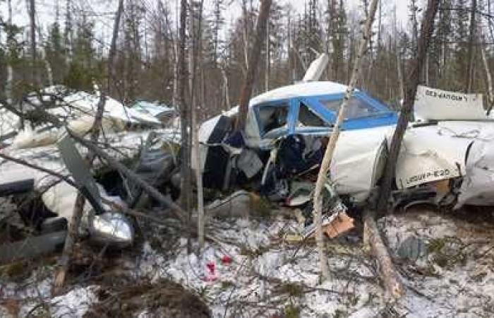 طفلة روسية نجت بأعجوبة من تحطم طائرة روسية