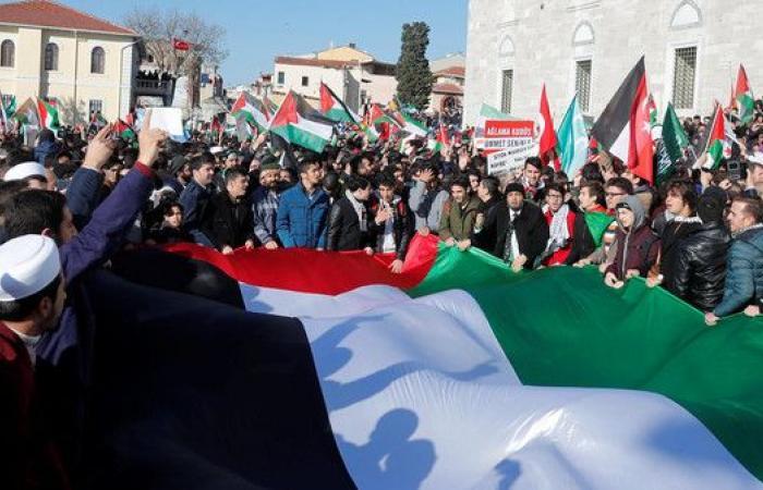 آلاف المتظاهرين في اسطنبول تنديداً بقرار ترمب حول القدس