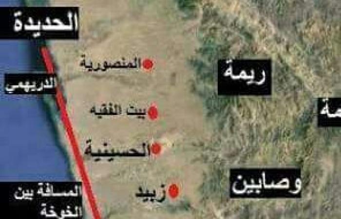 الجيش اليمني يمشط مديرية حيس في الحديدة بدعم من التحالف