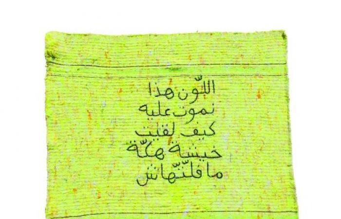 عائشة الفيلالي.. سؤال ساخر عن الفن المعاصر