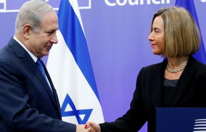 موغريني لنتنياهو باسمة: نحترم الإجماع الدولي حول القدس