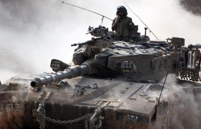 الدبابات الإسرائيلية تقصف مواقع شرق خان يونس