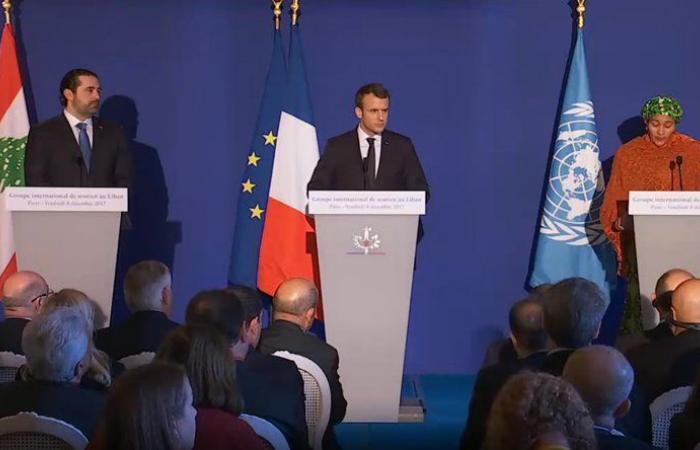 جلسات مكثفة للحكومة لمواكبة نتائج مؤتمر باريس