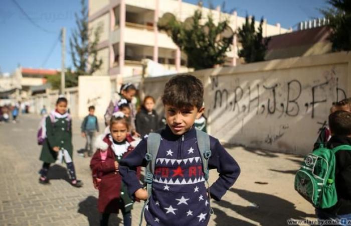 غزة تحتاج إلى مبانٍ مدرسية