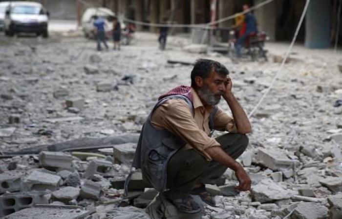 سورية: ارتفاع حصيلة ضحايا قصف التحالف الدولي على بلدة الجرذي