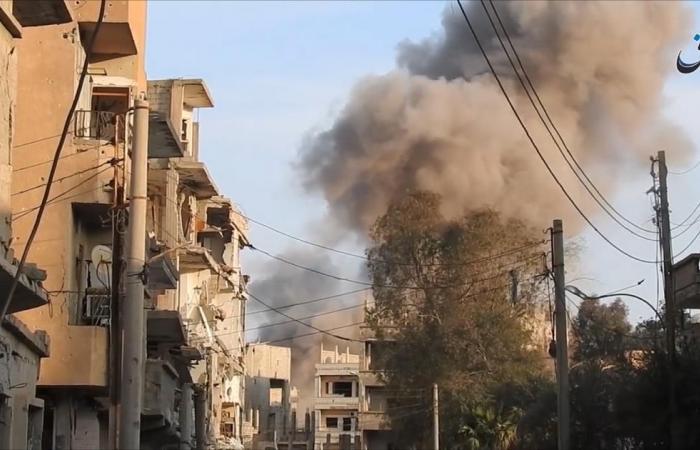"""""""مجزرة جديدة"""" بغارات جوية في دير الزور"""