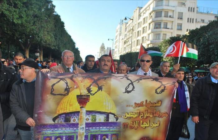 حملة بتونس لتجريم التطبيع مع إسرائيل