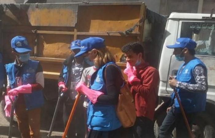 تدشين حملة النظافة الوطنية السادسة في صنعاء التاريخية
